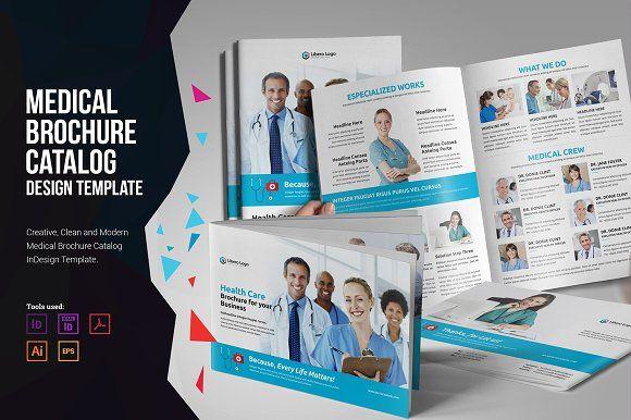 Medical HealthCare Brochure V Brochures Brochure Template And - Healthcare brochure templates