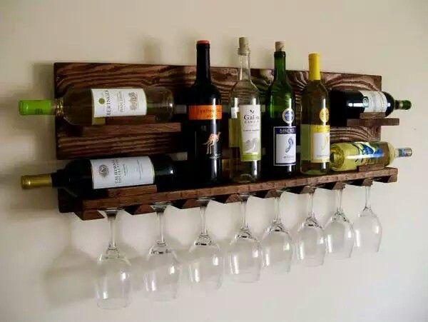 ... Wooden Wine Rack ...