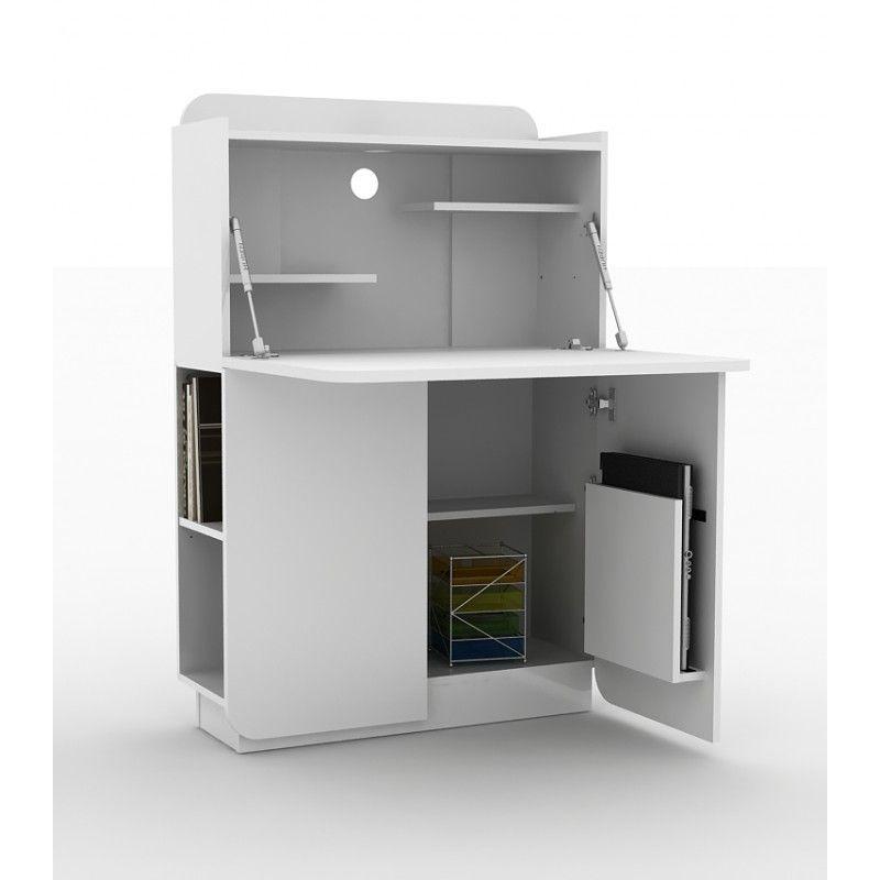 bureau design secreto atylia | maison > véranda | pinterest ... - Meuble Rangement Bureau Design