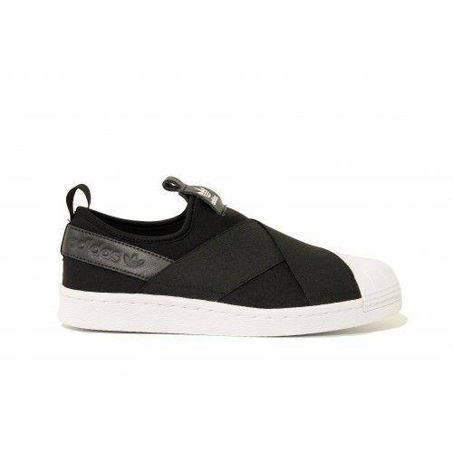 Adidas W Superstar Slip On Core Black