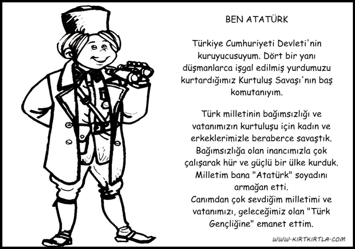 Atatürk Boyama Sayfasi Geçmişten Geleceğe Iz Bırakanlar Comics