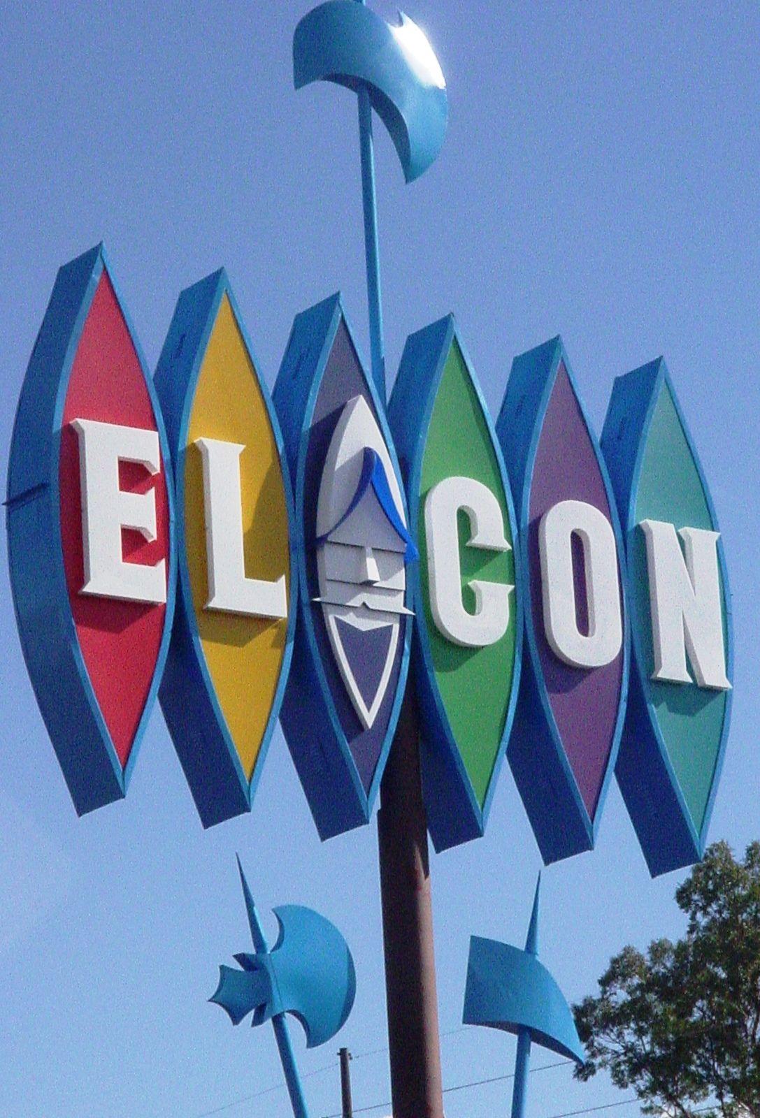 El Con sign from the original El Conquistador - Tucson, Arizona