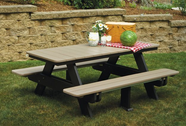poly picnic tables | amish built | berlin gardens | home: yard