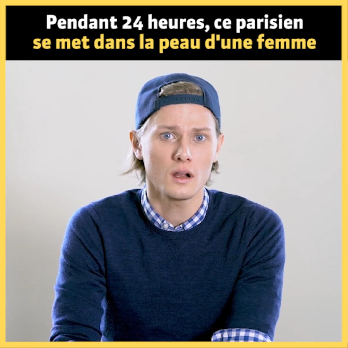 À Paris, cette expérience sociale met en scène un jeune homme dans la peau d'une femme pour dénoncer le harcèlement de rue. Une initiative choc imaginée par l'organisation Ni Putes Ni Soumises.