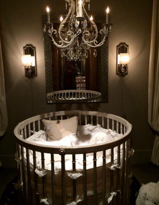 Circular Crib Round Cribs Baby Cribs Baby Decor