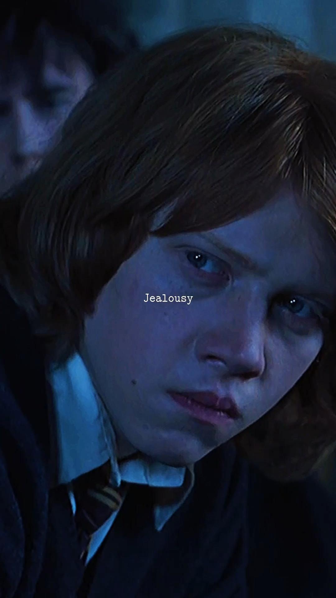 Ron Weasley jealous of Harry Potter?  ronweasley  harrypotter