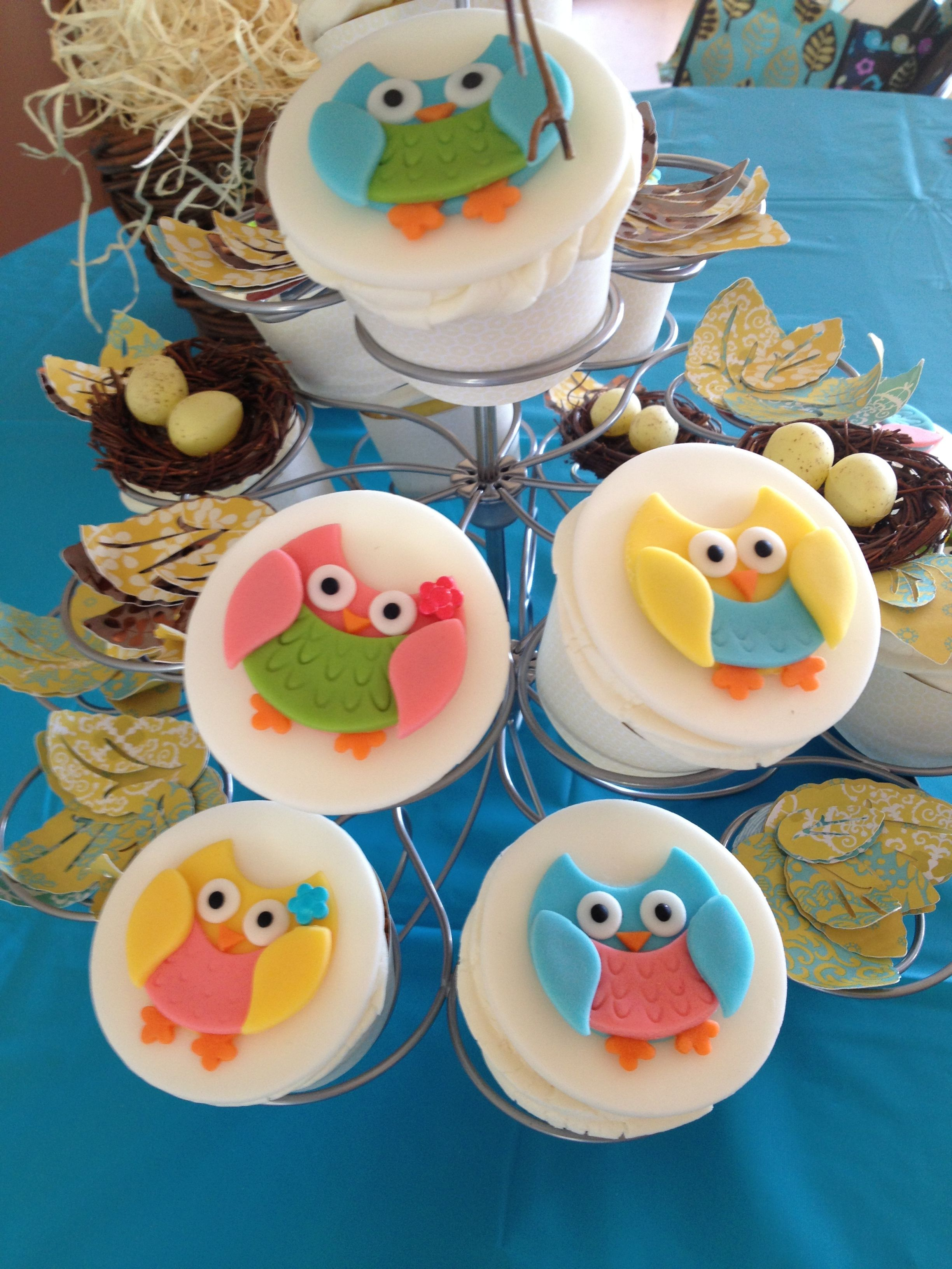 Owl cupcakes - by Bash!