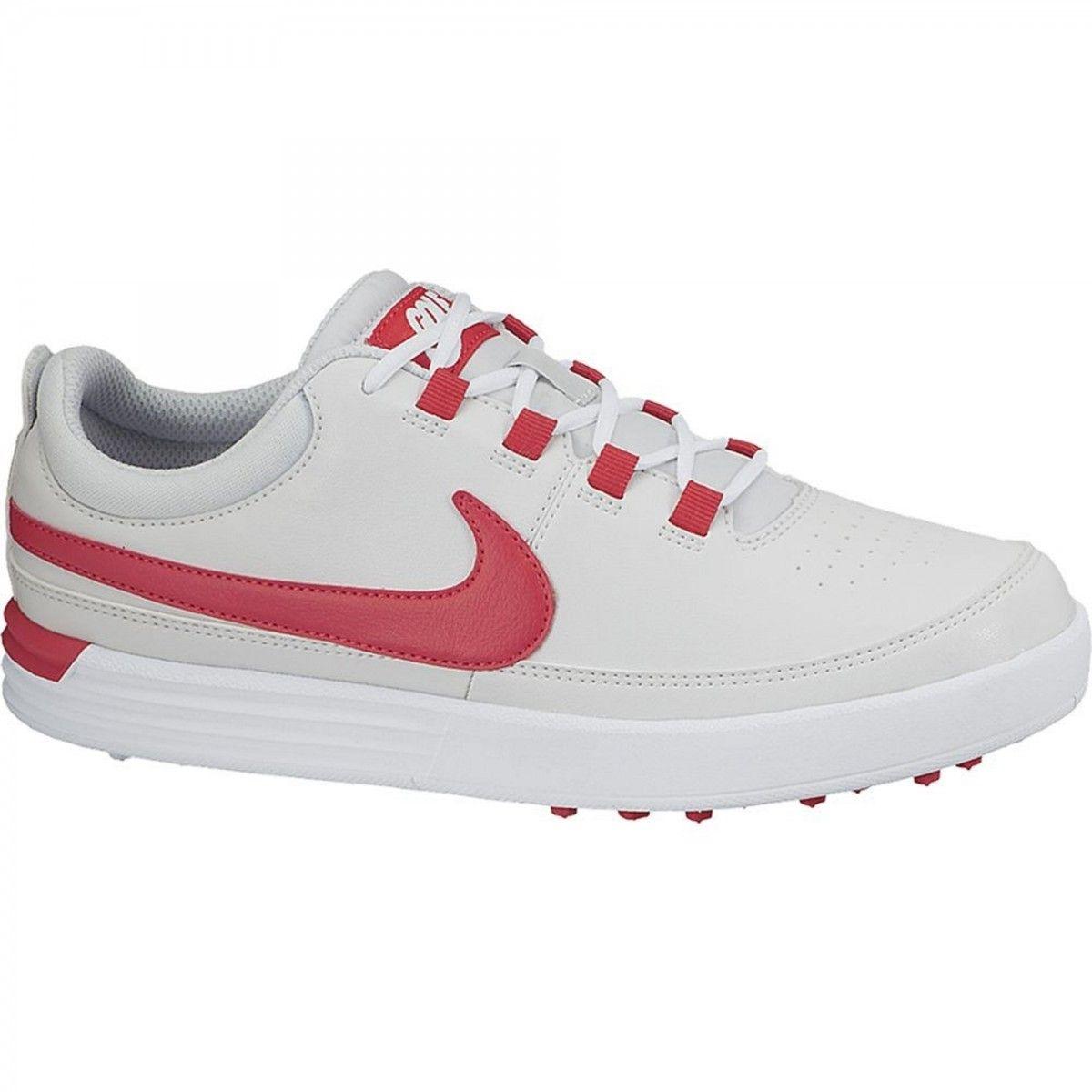 buy popular 10908 2d40c Nike VT Junior 001 White Red Men s Golf Shoe from  golfskipin
