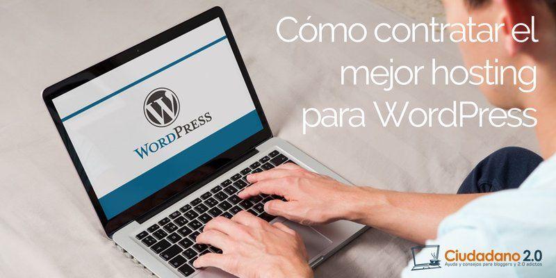 ᐅ ¿Cuál es el Mejor Hosting WordPress?【Análisis/Comparativa 2018】