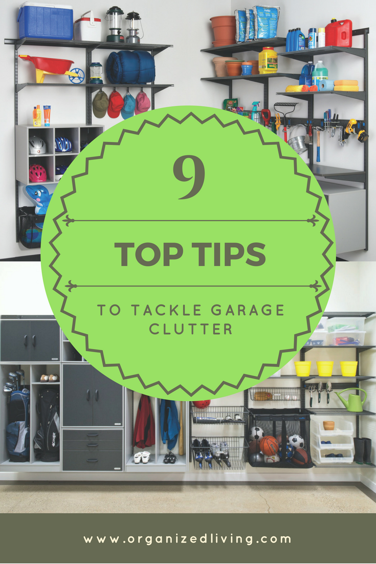 Here are ten tried-and-true tips to declutter and organize a garage and gain more space.