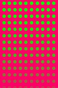 15 Iphone Wallpapers Backgrounds Hot Pink Lime Green Dots