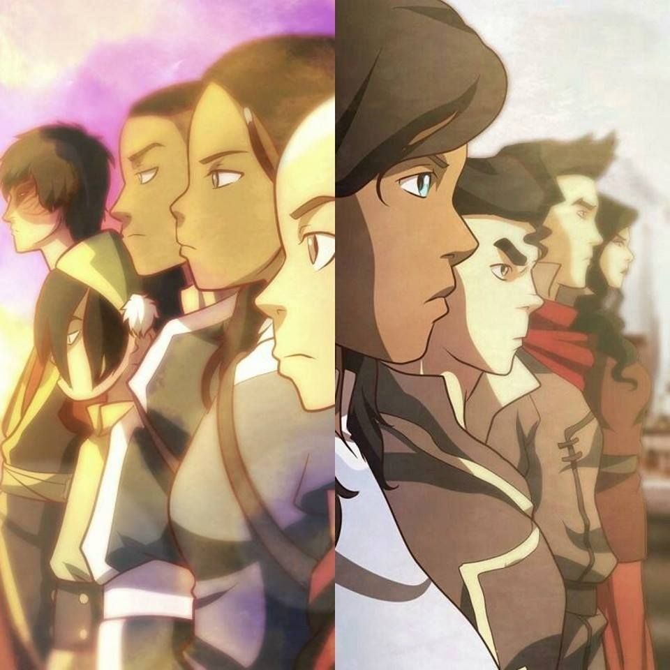 The Last Airbender Team Avatar: Avatar, Avatar Aang, Avatar La