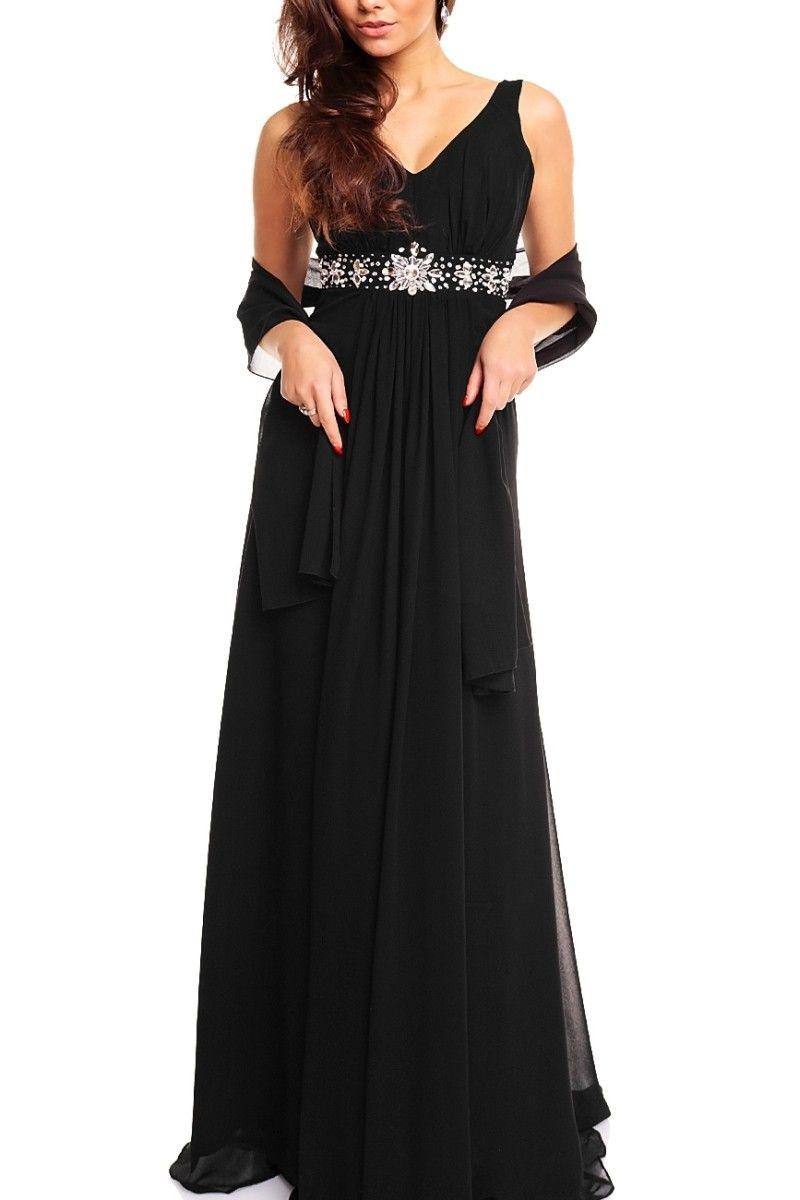 89be97efeff Dámské plesové šaty černé
