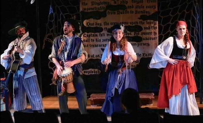 NYC Show Review: The Greatest Pirate Story (N)ever Told! - Hysterical Improv for Kids (& their Parents) - http://www.themamamaven.com/2013/12/03/must-see-nyc-show-greatest-pirate-story-never-told-hysterical-improv-kids-parents/ #NYC #kids