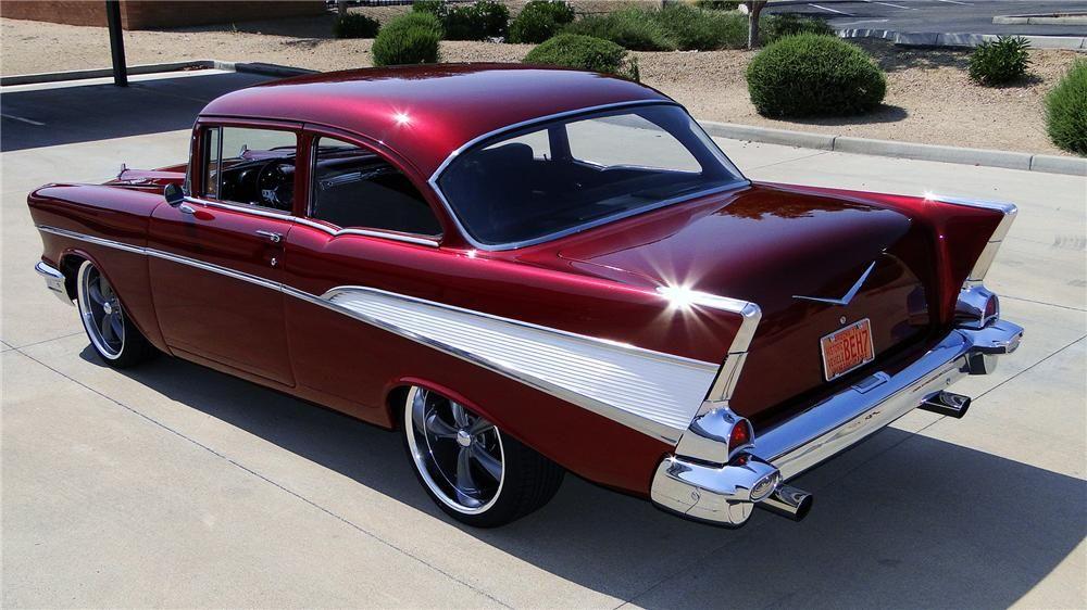 1957 chevrolet 210 custom 2 door seda barrett jackson for 1957 chevy 210 2 door