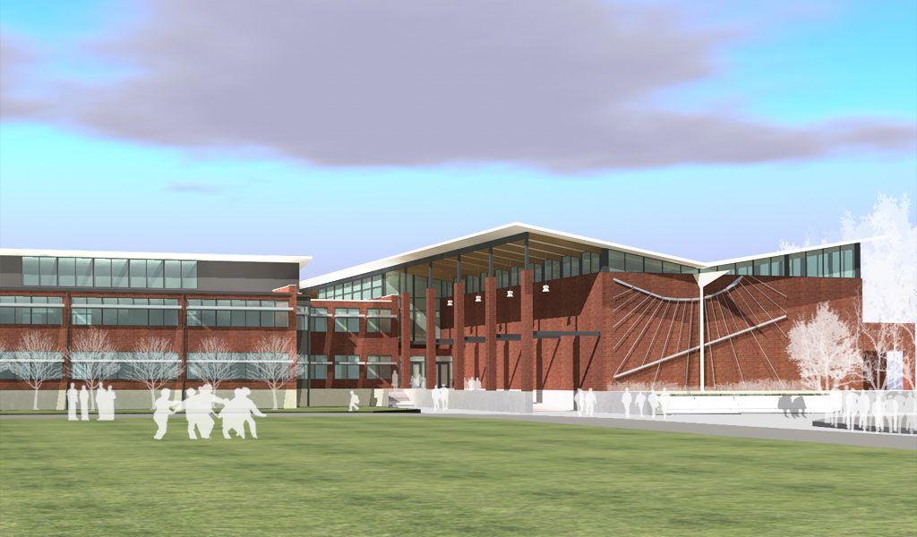 Front Elevation Designs For Schools : Front south elevation school design pinterest