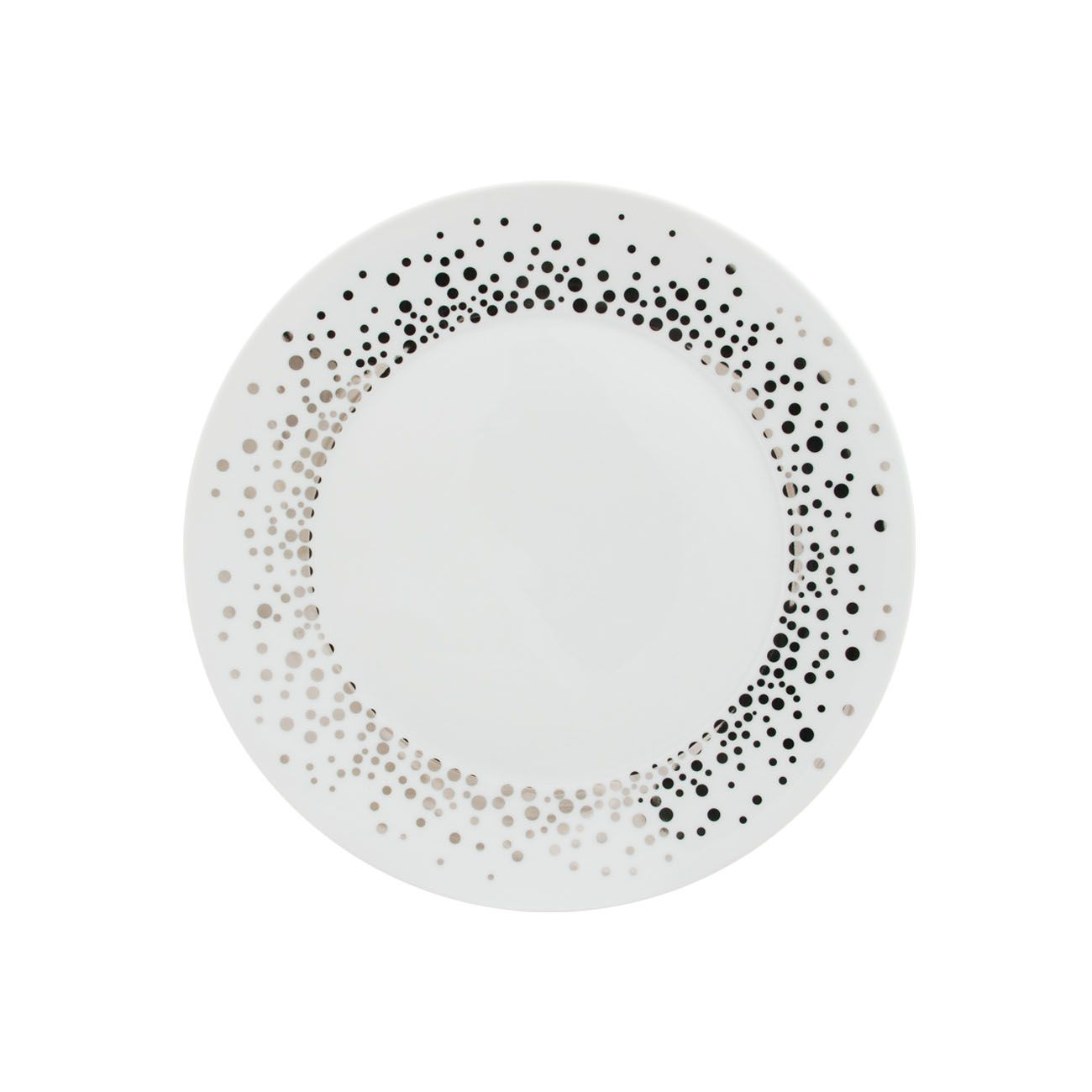 Silver Rain dinner plate by Porcel | we ♥ porcelain | Pinterest ...