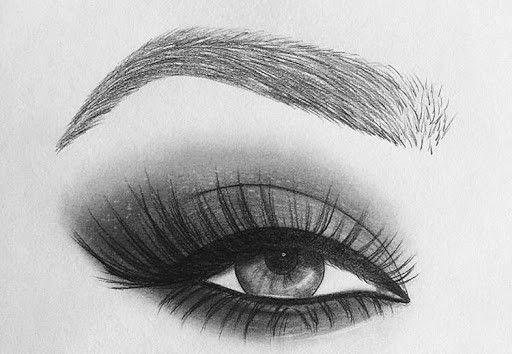 55 Charcoal Eye Drawings in 2020 | Eye drawing, Pencil ...
