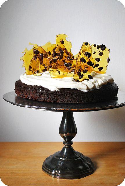 Of Turning A Year Older Mocha Cake Chocolate Coated Coffee Bean Cake Decorating