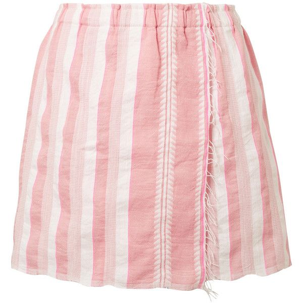 Discounts Discount Low Shipping Lemlem striped mini skirt moBL4s6sF
