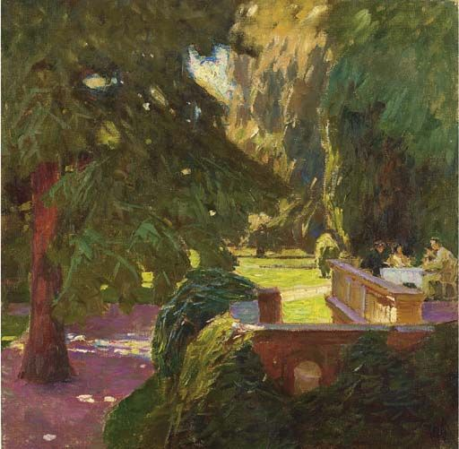 Carl Moll (1861-1945) | Plein air landscape, Cityscape art, Landscape art