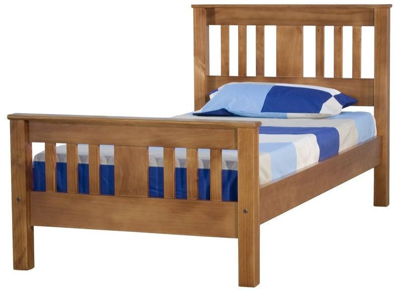 Best Wentworth King Single Slat Bed Frame With Images 400 x 300