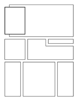 10 square comic strip template  Comic Book Strips Templates (5 Styles) in 5 | Comic book ...