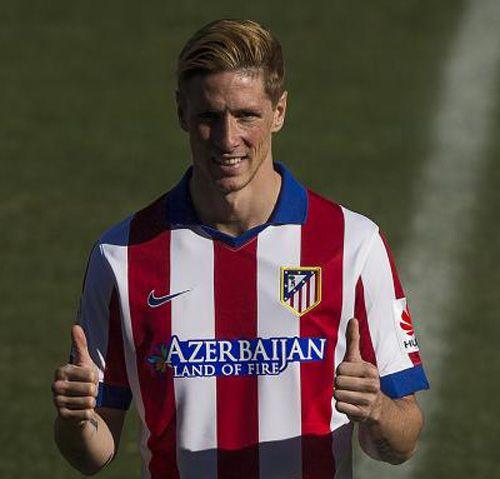 Nueva equipacion fernando Torres Atletico Madrid 2014-2015 ...