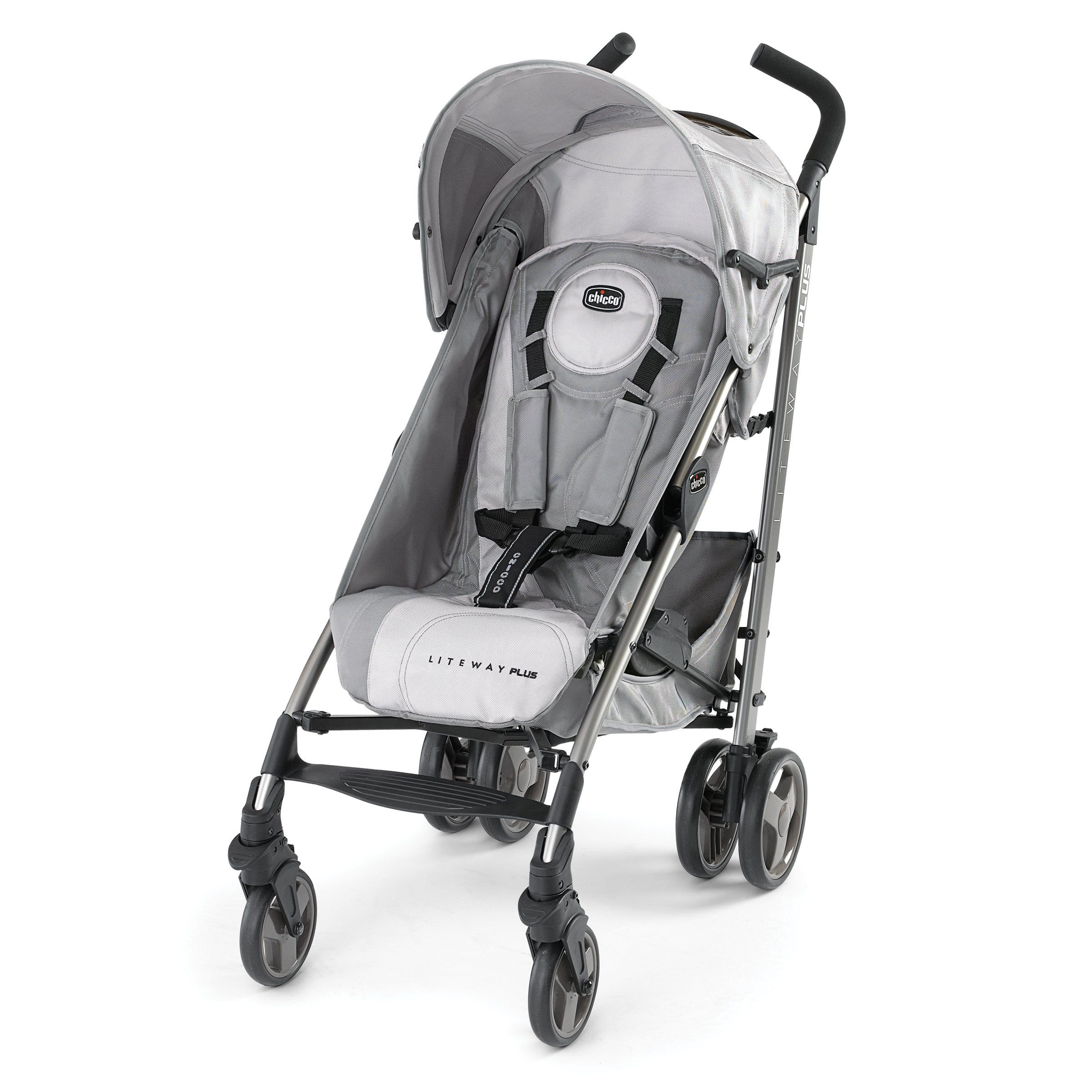 Chicco Liteway Plus Stroller, Silver. Compatible with