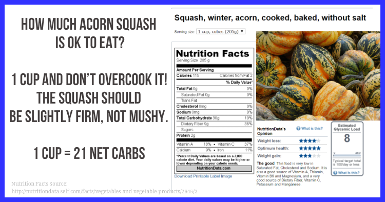 How Much Acorn Squash Can You Eat With Prediabetes With Images