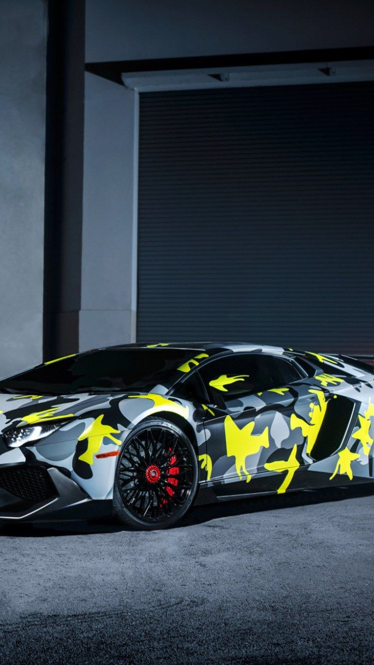 Lamborghini Iphone 6 Wallpaper 21 Luks Arabalar Havali Seyler Kafataslari