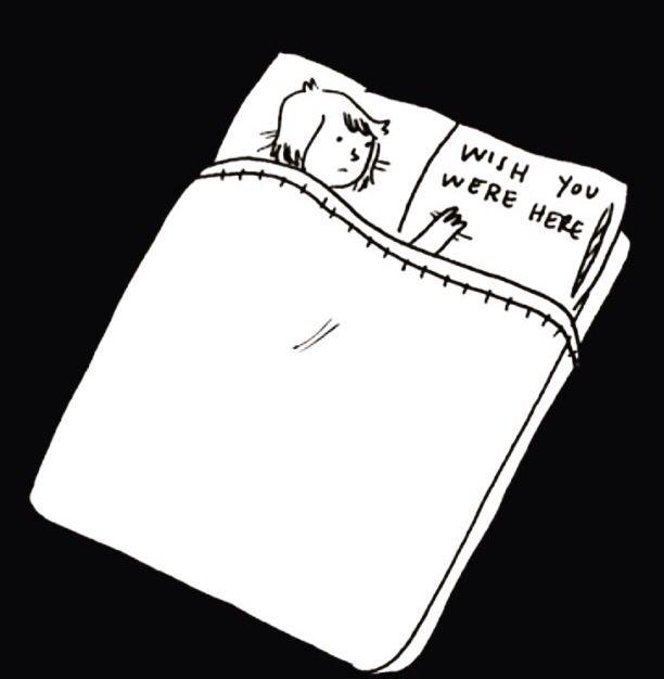 quisiera que estuvieras aqui :(