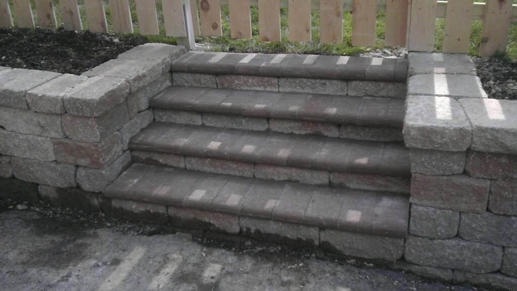 how to build versa lok steps