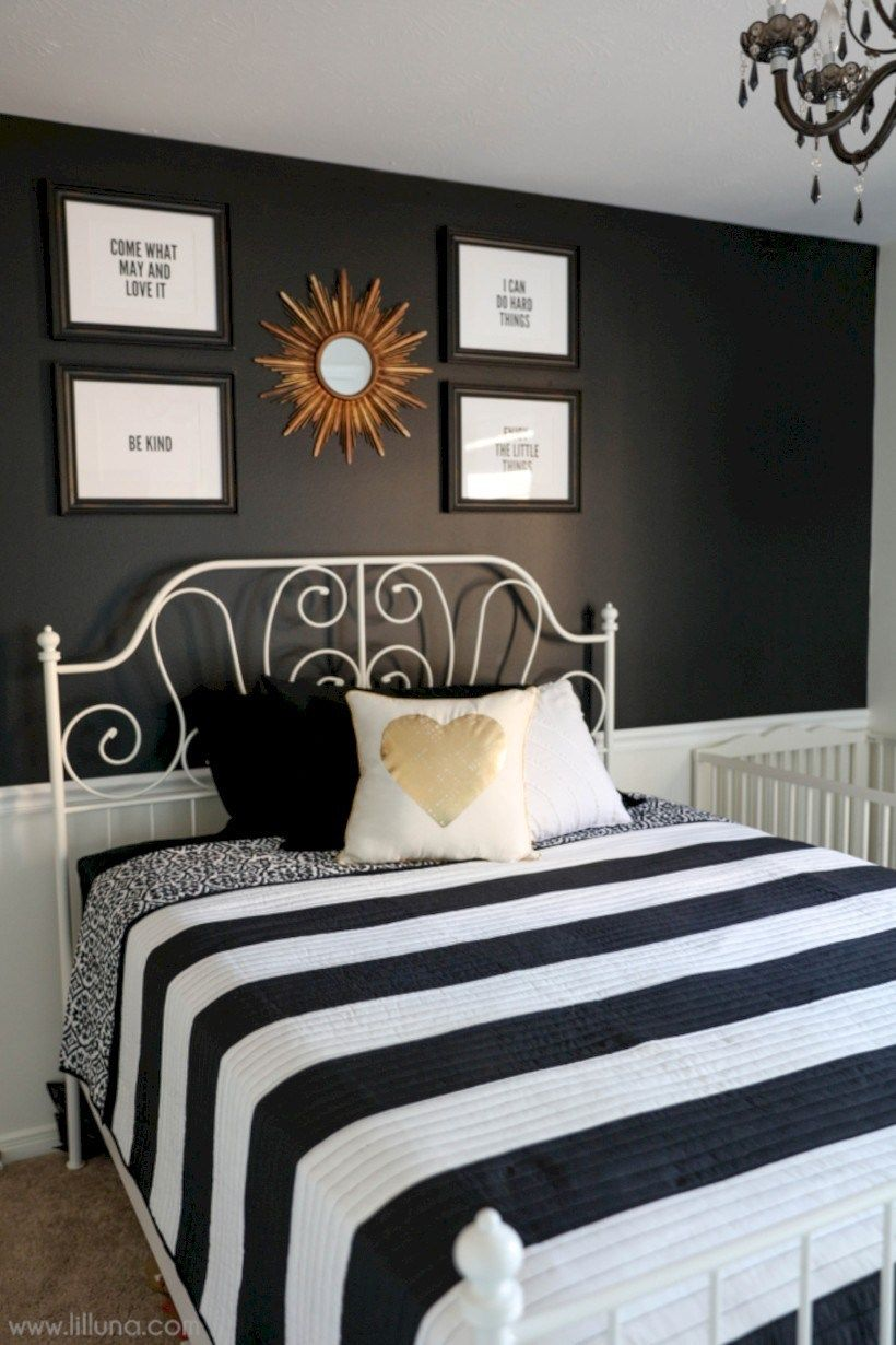 59 Amazing Black And White Bedroom Ideas Guest Bedroom Decor Pink Bedroom Decor Guest Bedroom Makeover