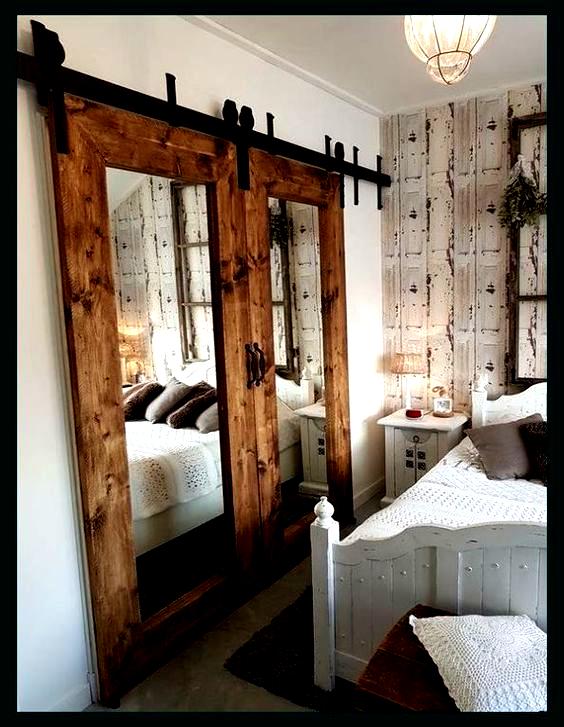 Pin By Dianne Mitchell On Doors In 2020 Barn Door Closet Barn Door Cabinet Closet Concepts
