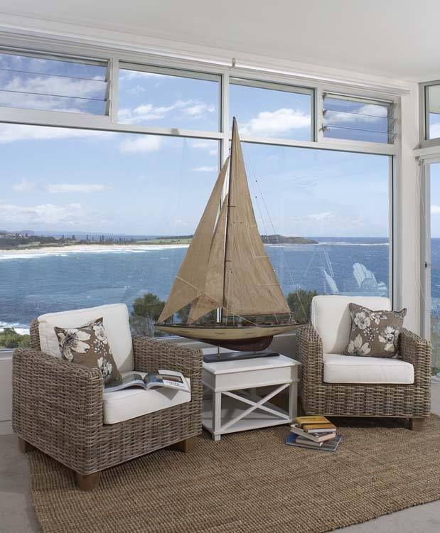 decorative sailboat beach cottage sailboat decorbeautiful beach housesbeach house - Beach House Decor