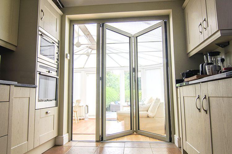 Solarlux SL Bi Folding Doors, Sliding Sash Windows And Apeer Front Door,  Warfield, Berkshire   Thames Valley Windows