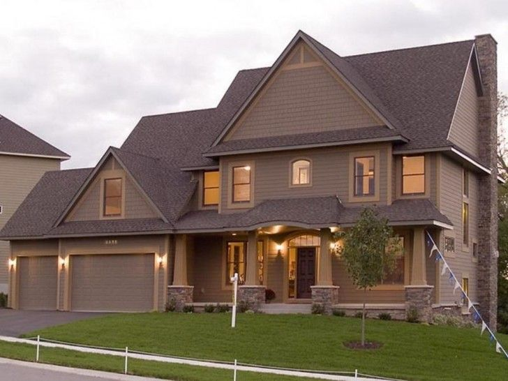 Warmth Exterior House Paint Ideas Ranch Style Home