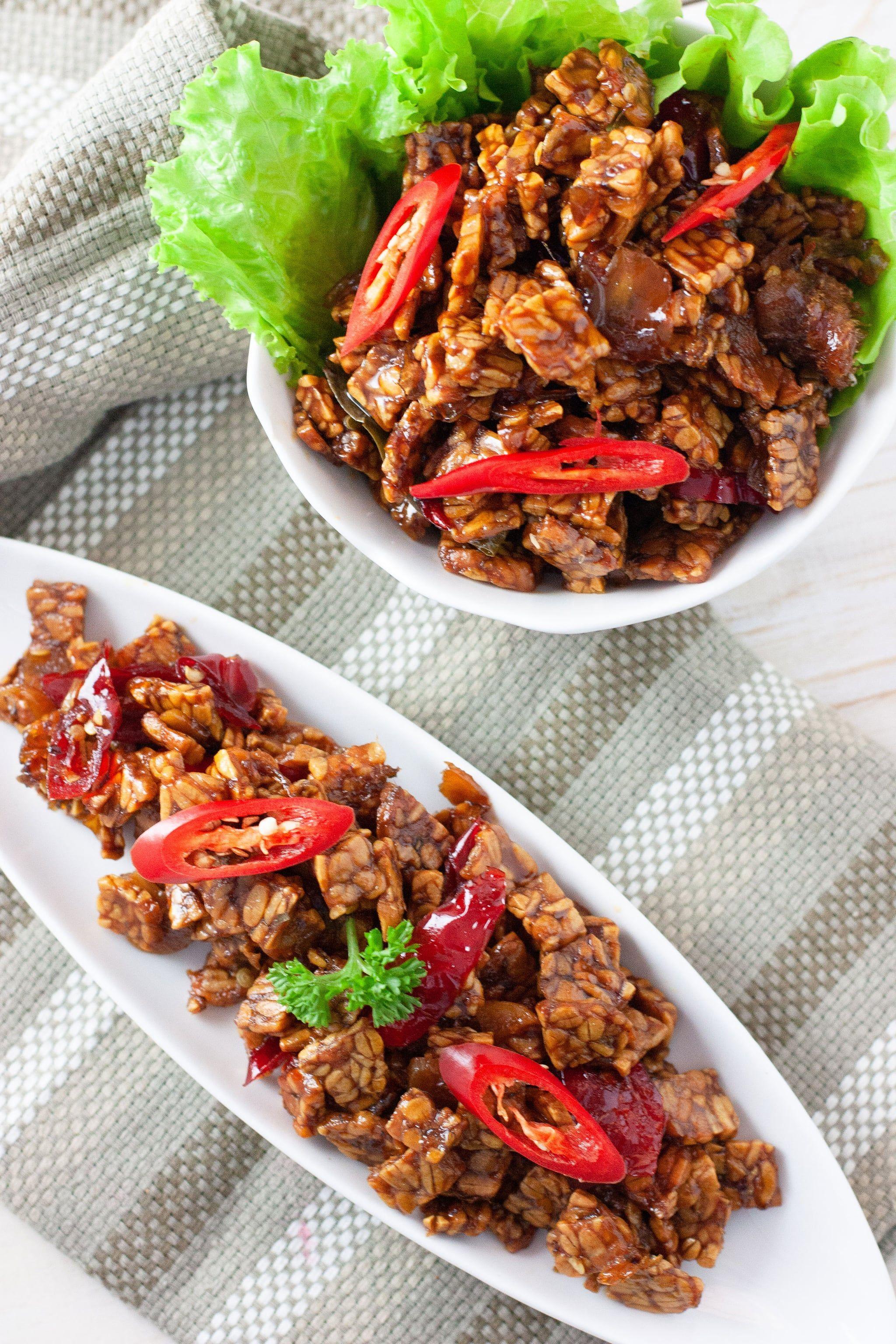 Tempeh High protein recipes, Vegetarian recipes easy