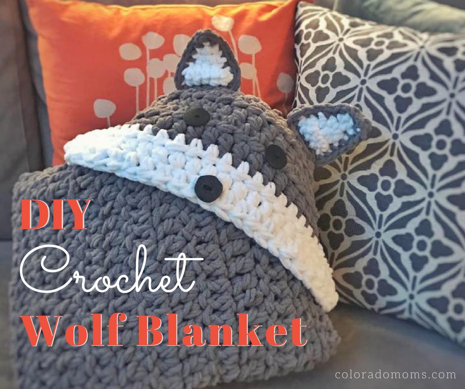 DIY Crochet Wolf Blanket | Baby blankets | Pinterest