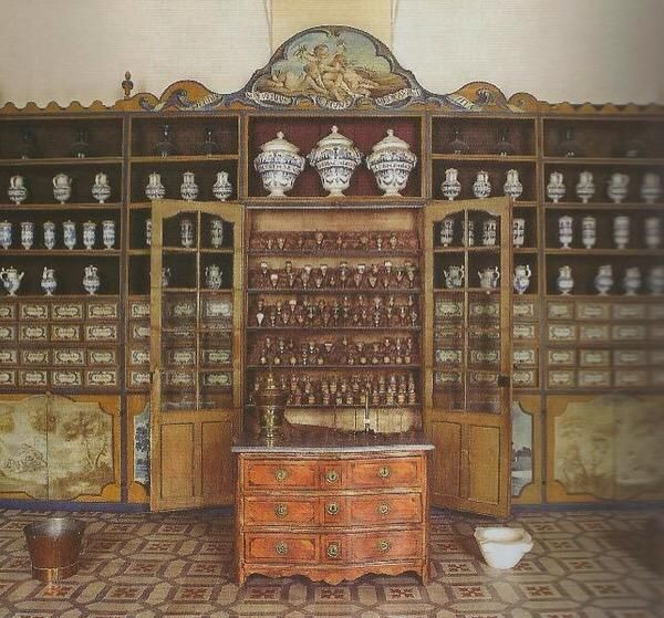 18th Century Pharmacy France With Images Old Bottles Museum