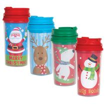 bulk kids christmas travel mugs 11 oz at dollartreecommaybe put cocoa pkg in it