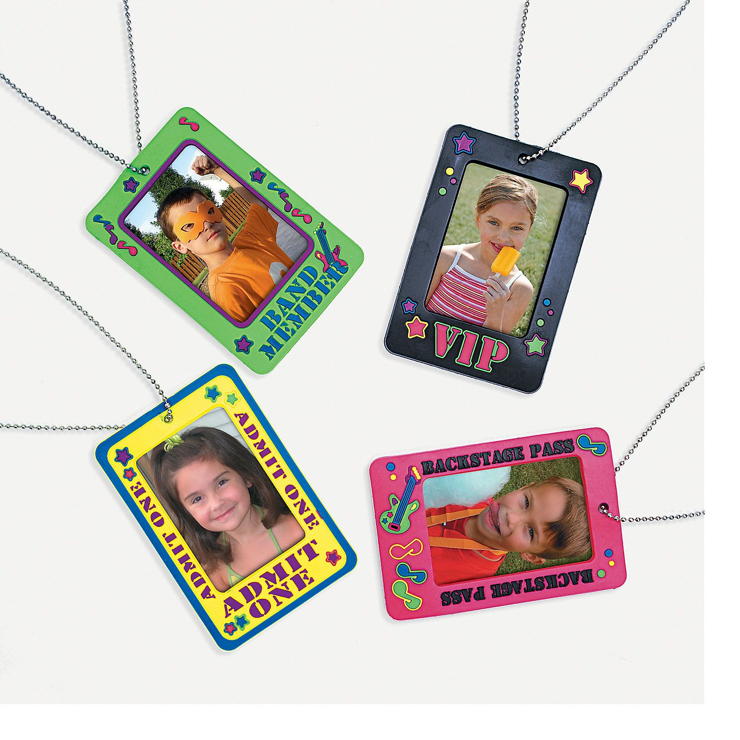 Would be fun to do a backstage VIP pass type registration badge (professionally done, not these kid versions)  Backstage Badge Holder Necklaces - OrientalTrading.com