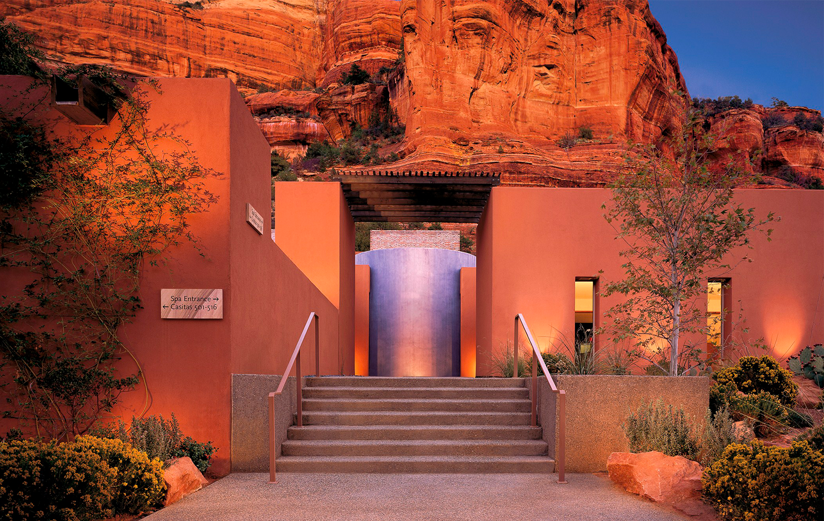 9 Best Luxury Only Hotels Mii Amo Sedona Az Tucked Away In A Canyon Beneath The Red Rocks This World Renowned Spa Offers Journey Experiences