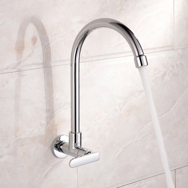 Single Handle Wall Mounted Cold Only Kitchen Mixer Tap Sold At Us