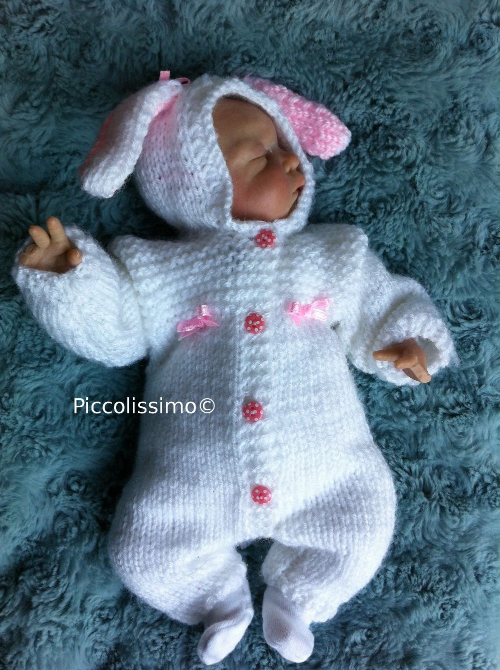 New knitting pattern coming soon!!! Piccolissimo 10 inch bunny all ...