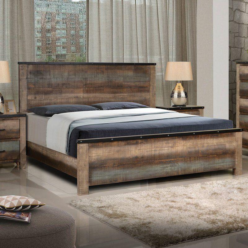 Shandra Standard Bed Panel bed, Furniture, California