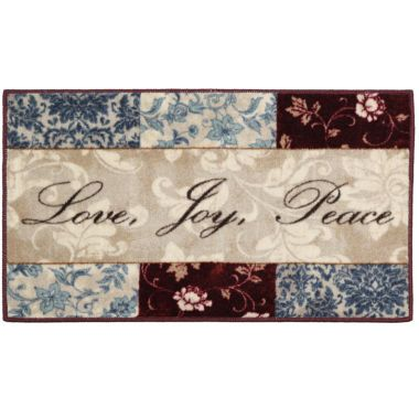 Sentiments Washable Kitchen Rug Found At @JCPenney