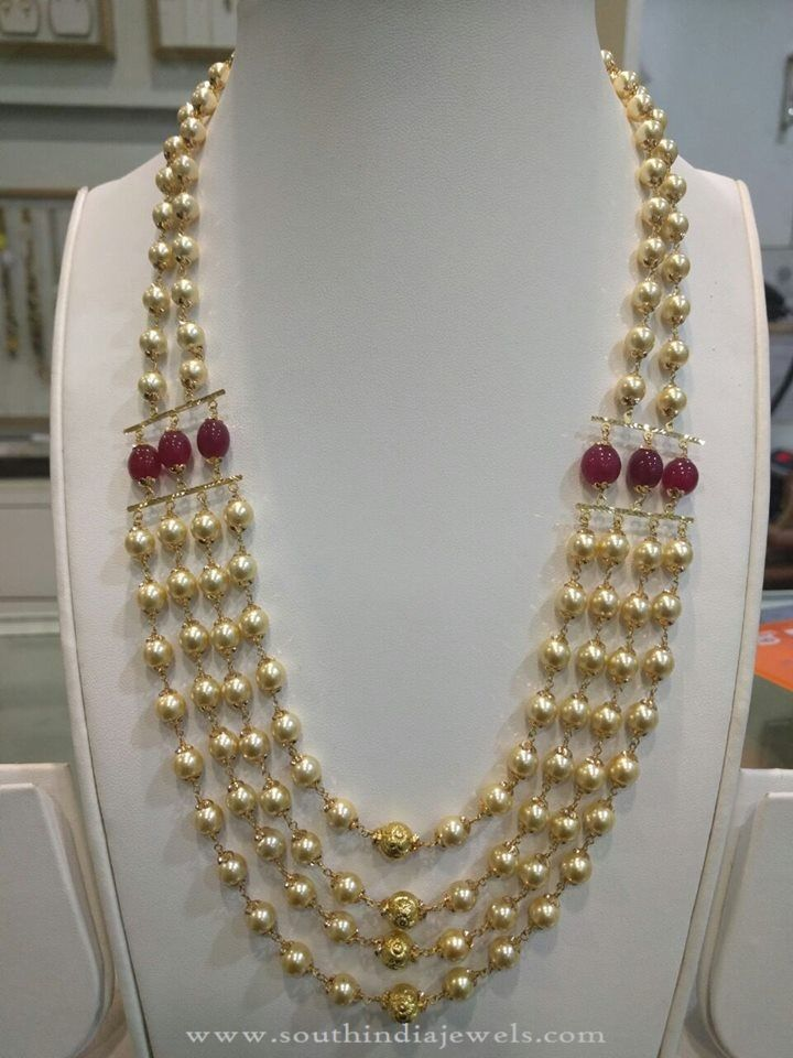 30 Grams Gold Pearl Haram Jewellery Pearls Jewelry