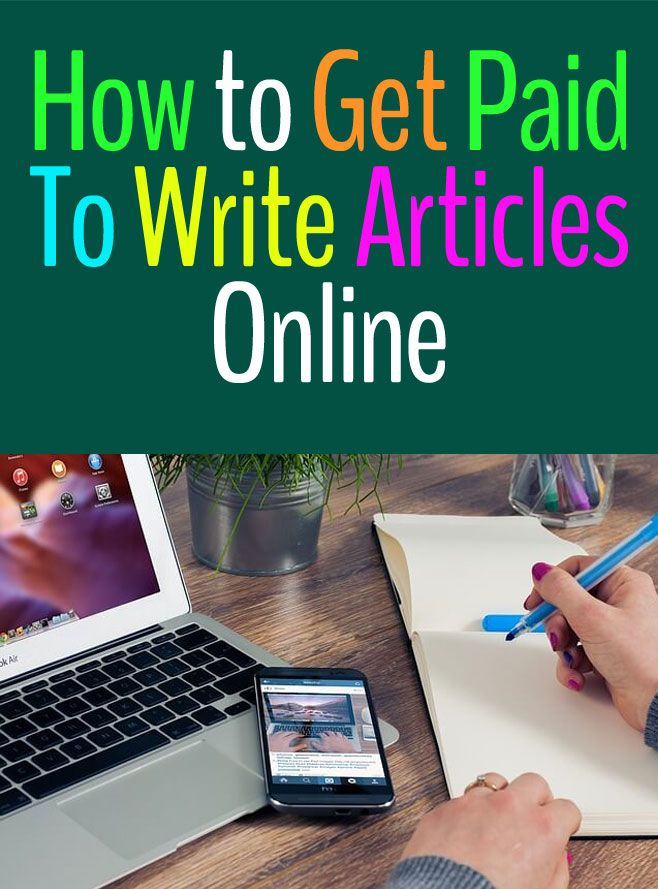 How to Get Paid to Write Articles Online - Earn $500 A Month